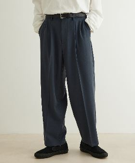 【cantate】 Two-tuck Trousers